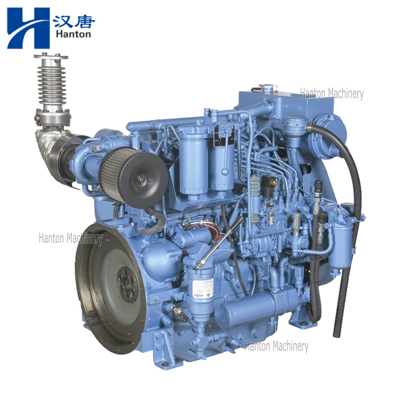 Weichai Baudouin Engine 4W105M (WP4) Series for Marine Main Propulsion